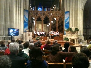 Bethlehem Prayer Service at National Cathedral 2013